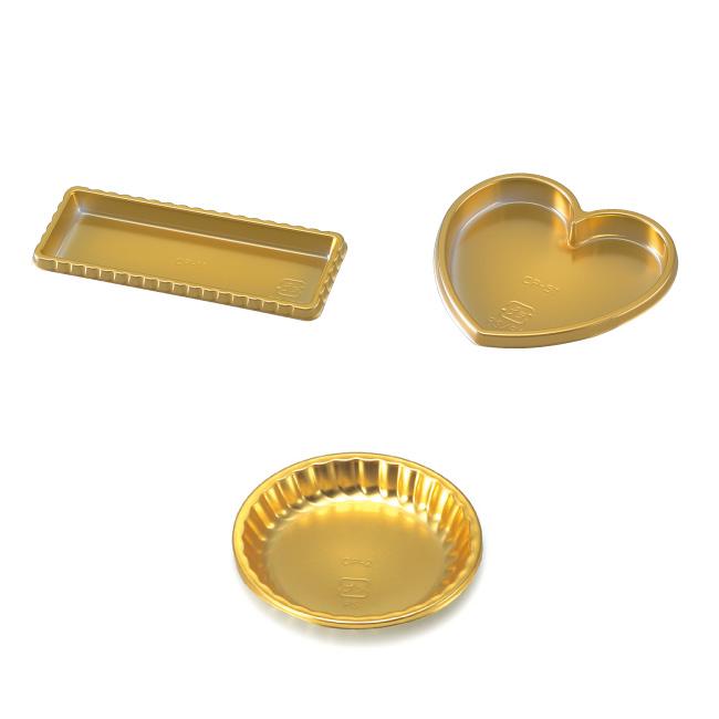 ゴールドケーキプレート